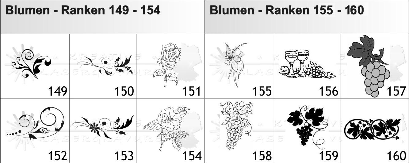 Blumen-Ranken-149-160