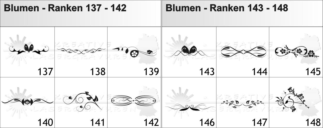 Blumen-Ranken-137-148