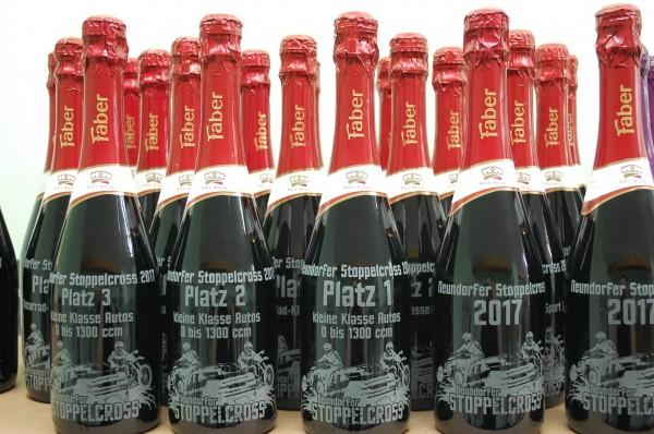 Flaschen - Gravur Kundenmaterial