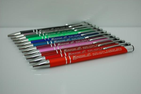 gravierte Metall Kugelschreiber