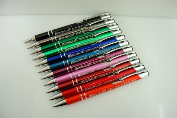 Metall Kugelschreiber mit Gravur Sonderpreis
