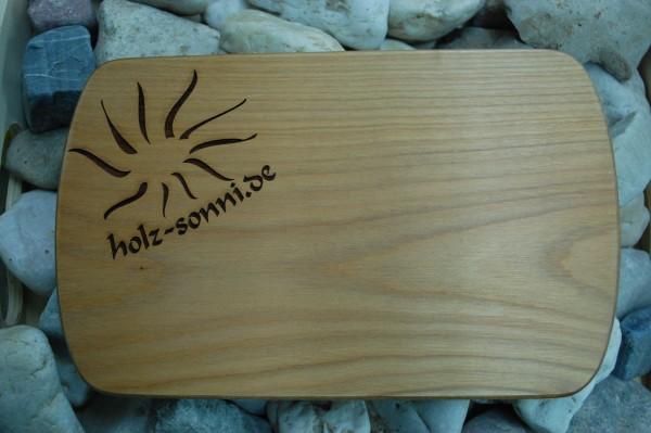 Gravur auf Holz Frühstücksbrett Kundenmaterial - Staffelpreise